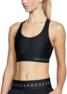 Under Armour Women's Mid Keyhole Sports Bra