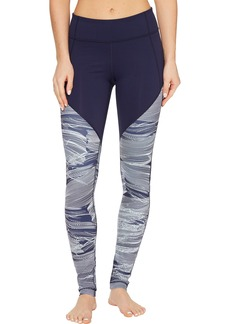 Under Armour Mirror Color Block Printed Leggings