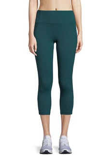 Under Armour Mirror Hi-Rise Crop Performance Leggings