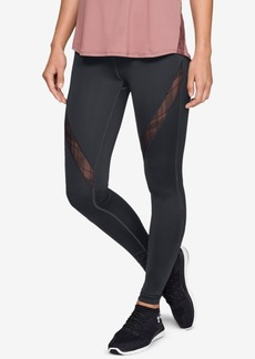 Under Armour Misty Copeland Embroidered-Lace Leggings