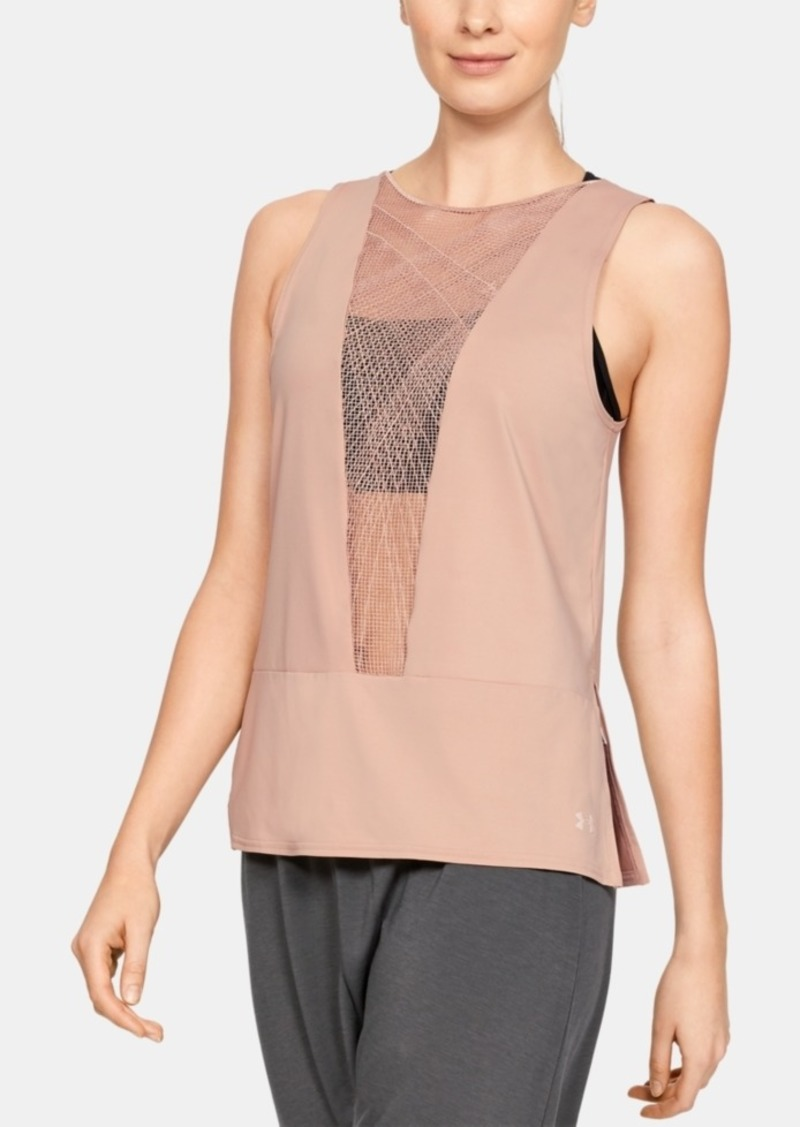 Under Armour Misty Copeland Signature Embroidered Strappy-Back Tank Top