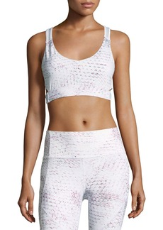 Under Armour Misty Printed Strappy Bralette