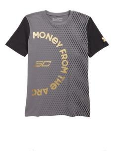 Under Armour Money from the Arc HeatGear® T-Shirt (Big Boys)