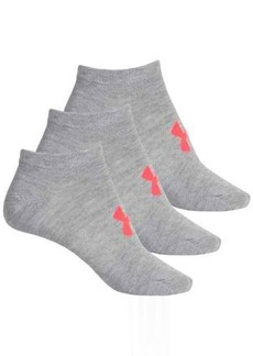 Under Armour No-Show Liner Socks - 3-Pack, Below the Ankle (For Women)