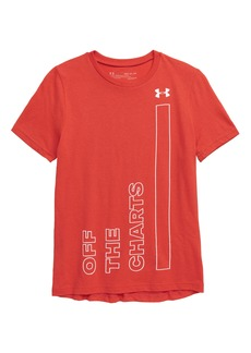 Under Armour Off the Charts HeatGear® Graphic T-Shirt (Big Boys)