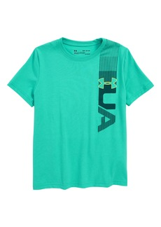 Under Armour One-Sided HeatGear® Charged Cotton® T-Shirt (Big Boys)