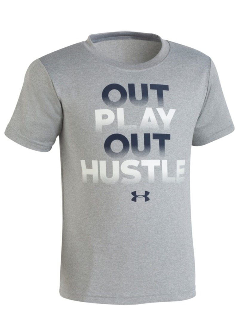Under Armour Under Armour Out Hustle Print T Shirt Little Boys