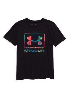 Under Armour Paint Drip Logo Performance T-Shirt (Big Boys)