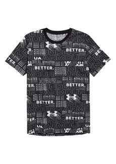 Under Armour Perpetual HeatGear® Print T-Shirt (Big Boys)