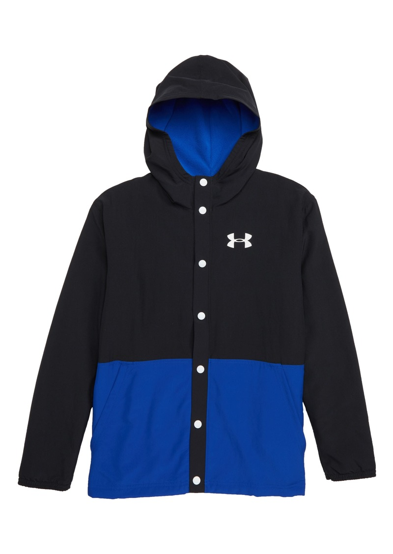 10a94bec1 Under Armour Under Armour Phenom ColdGear® Hooded Coach's Jacket ...