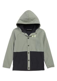 Under Armour Phenom ColdGear® Hooded Coach's Jacket (Big Boys)