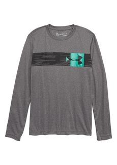 Under Armour Pixel Crossbar HeatGear® T-Shirt (Big Boys)