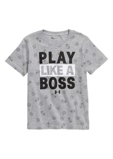 Under Armour Play Like A Boss Graphic T-Shirt (Toddler Boys & Little Boys)