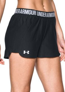 Under Armour Contrast Logo Athletic Shorts