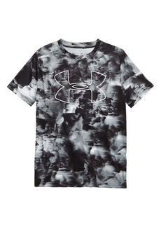 Under Armour Printed Big Logo T-Shirt (Big Boys)