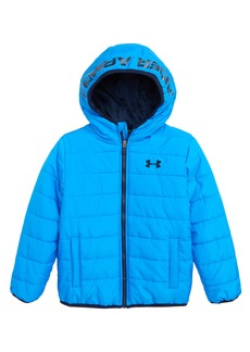 Under Armour Pronto Water Repellent Hooded Puffer Jacket (Toddler Boys & Little Boys)
