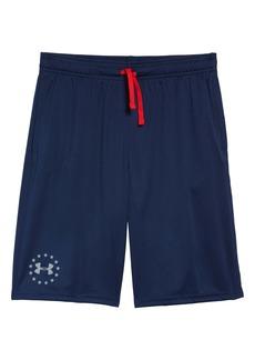Under Armour Prototype Americana Shorts (Big Boy)