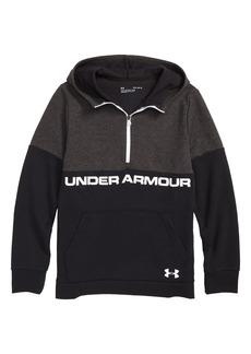 Under Armour Quarter Zip Hoodie (Big Boys)