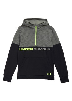 Under Armour Quarter Zip Hoodie (Big Boys)