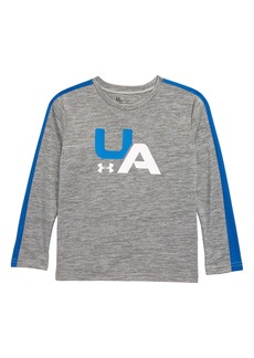 Under Armour Racer Stripe Twist Long Sleeve Shirt (Toddler Boys & Little Boys)