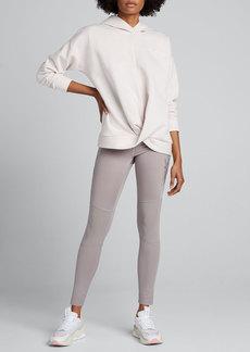 Under Armour Recovery Fleece Wrap-Front Hoodie Sweatshirt