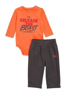 Under Armour Release the Beast Bodysuit & Leggings Set (Baby Boys)