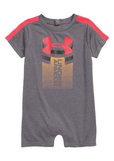 Under Armour Rising Logo HeatGear® Romper (Baby Boys)
