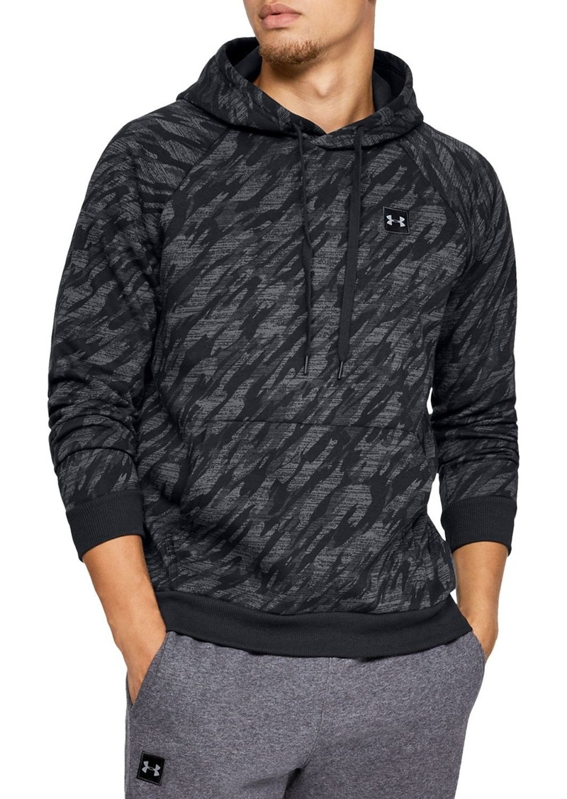 Under Armour Rival Camo Fleece Hooded Sweatshirt