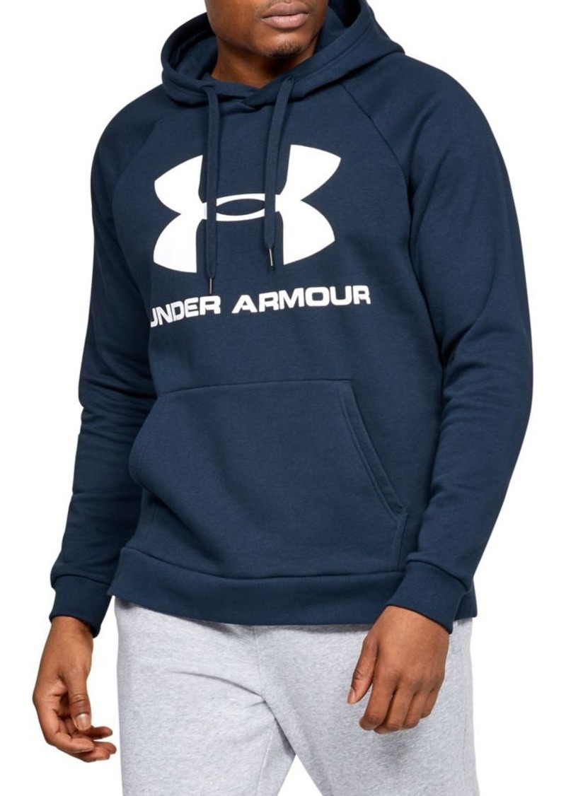 Under Armour Rival Fleece Large Logo Hoodie