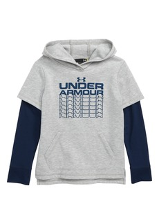 Under Armour Rival Fade Out Graphic HeatGear® Hoodie (Toddler Boys & Little Boys)