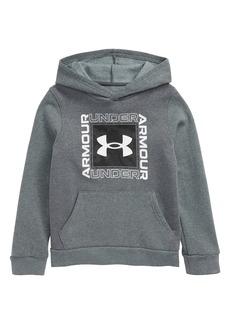 Under Armour Rival Fleece Logo Hoodie (Big Boy)