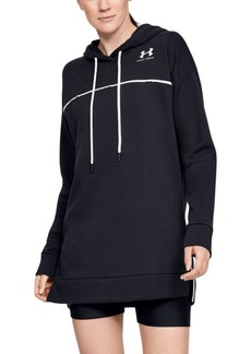 Under Armour Rival Fleece Tunic Hoodie