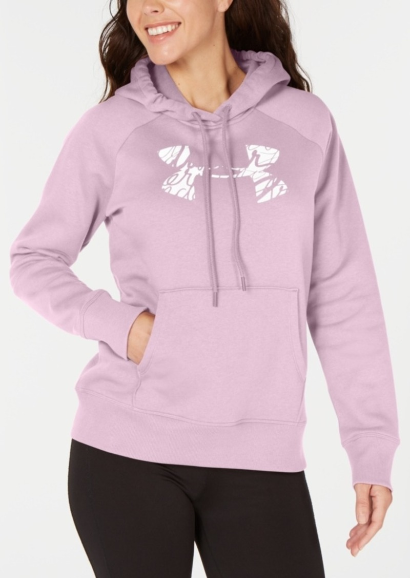 Under Armour Women's Rival Logo Fleece Hoodie