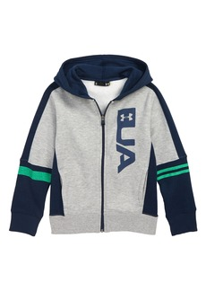 Under Armour Rival Logo Full Zip Hoodie (Toddler Boys & Little Boys)
