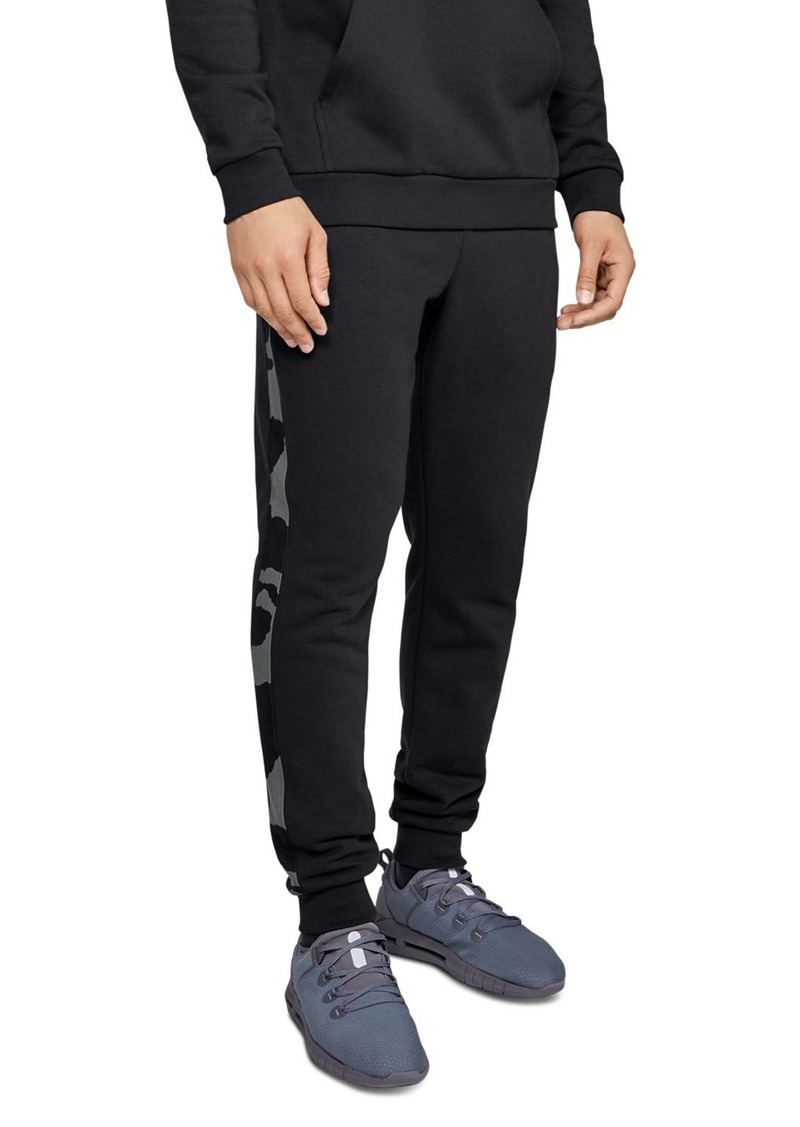 Under Armour Rival Side-Stripe Fleece Sweatpants