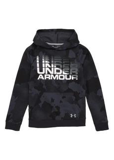 Under Armour Rival Wordmark HeatGear® Hoodie (Little Boys & Big Boys)