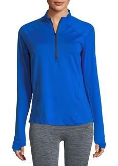 Under Armour Run True Half-Zip Pullover Top