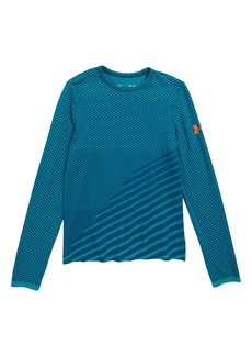 Under Armour Seamless HeatGear® Shirt (Big Boys)