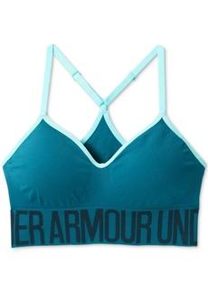 Under Armour Seamless Low-Impact HeatGear Sports Bra