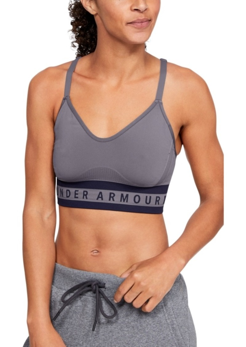 Under Armour Seamless Strappy-Back Low-Impact Sports Bra