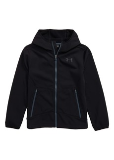 Under Armour Sim ColdGear® Hooded Soft Shell Jacket (Big Boys)