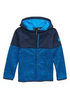 Under Armour Slash Armour Fleece® Full Zip Hoodie (Toddler Boys & Little Boys)
