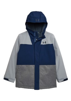 Under Armour Slate Quarry ColdGear® Waterproof Insulated Hooded Jacket (Big Boys)