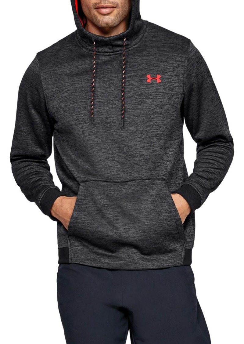 Under Armour Space-Dye Fleece Hooded Sweatshirt