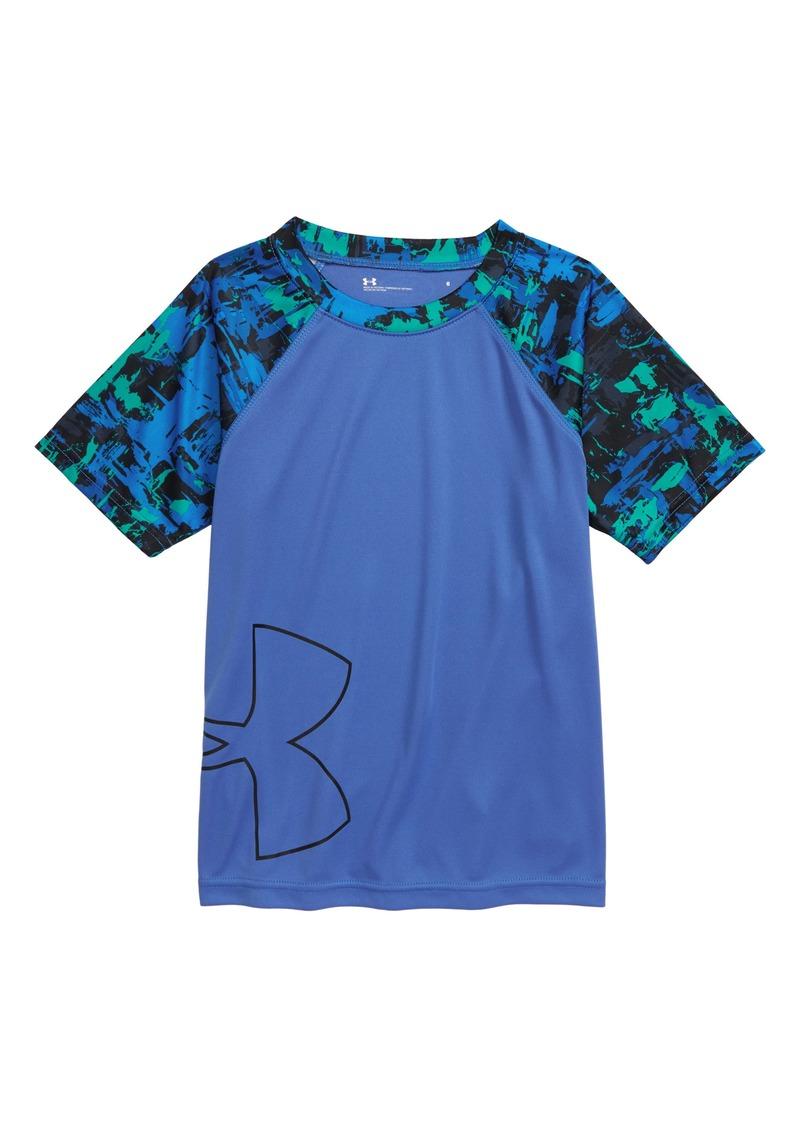 Under Armour Splash HeatGear® Raglan Shirt (Toddler Boys & Little Boys)