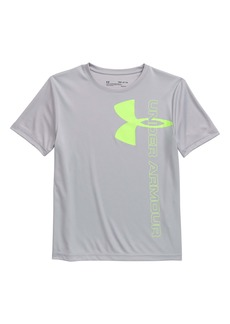 Under Armour Split Logo Hybrid HeatGear® Performance T-Shirt(Big Boys)