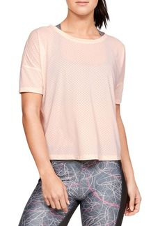 Under Armour Sport Mesh Cropped T-Shirt