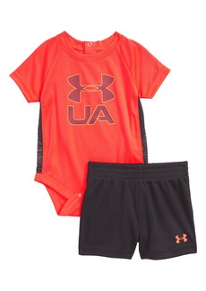 Under Armour Sportster Bodysuit & Shorts Set (Baby Boys)