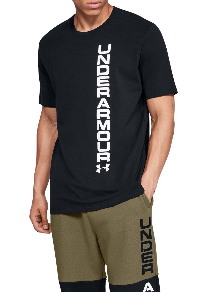 Under Armour Sportstyle Blocked Crewneck T-Shirt