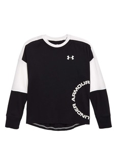 Under Armour Sportstyle HeatGear® Colorblock T-Shirt (Big Boys)